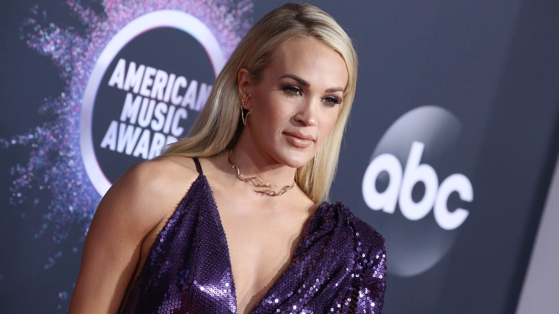 Carrie Underwood Says Her Family Hid in a Safe Room During Deadly Nashville Tornado - Yahoo Entertainment