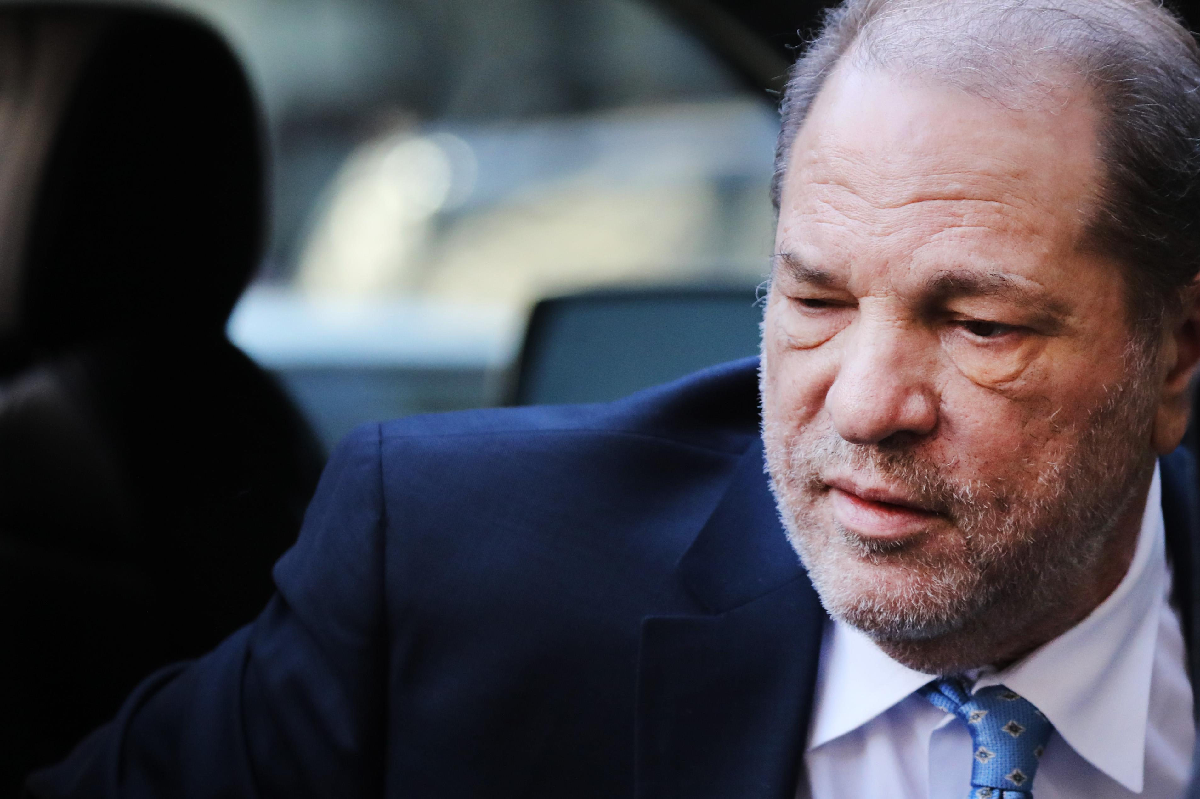 Where's Weinstein? Movie mogul remains hospitalized, not imprisoned, after rape conviction - Yahoo Entertainment