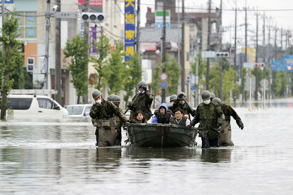 'Race against time' in Japan floods, 50 feared dead - ABS-CBN News