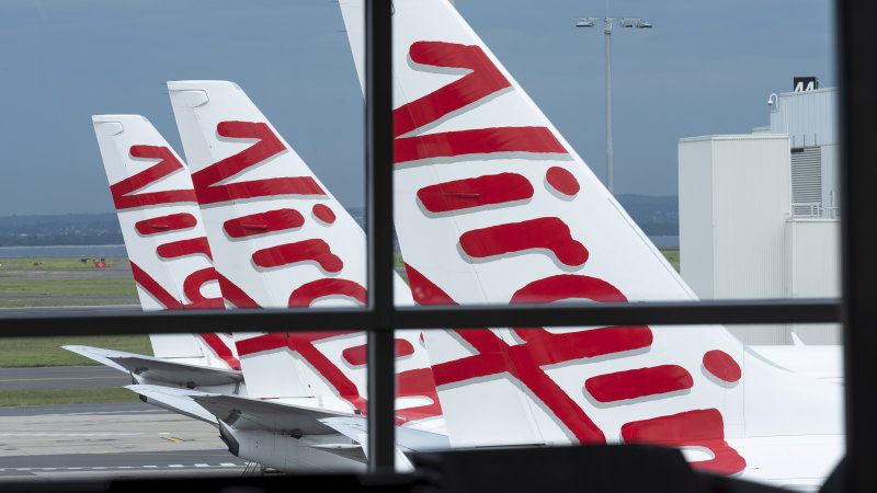 Virgin Australia customers set for credits, not refunds, for cancelled flights - Sydney Morning Herald