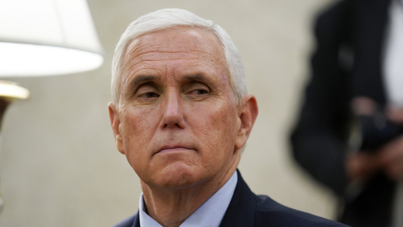 Mike Pence self-isolates after aide was diagnosed with coronavirus - Sydney Morning Herald