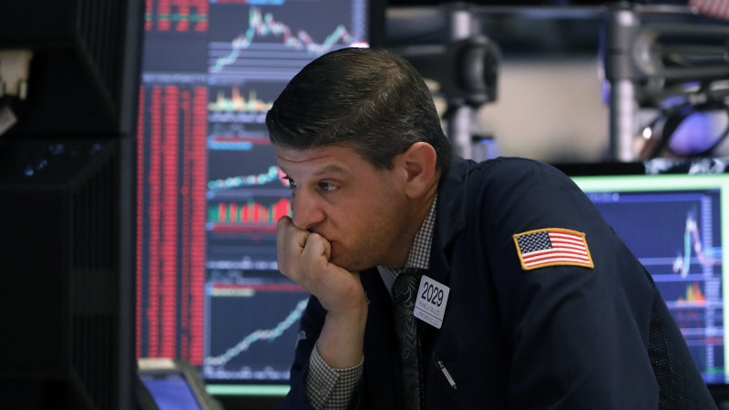 Trading halted on Wall Street after stocks plunge 7 per cent at open - Sydney Morning Herald
