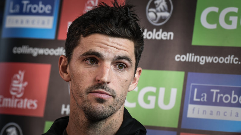 Pendlebury quarantined from Pies with flu-like symptoms - Sydney Morning Herald