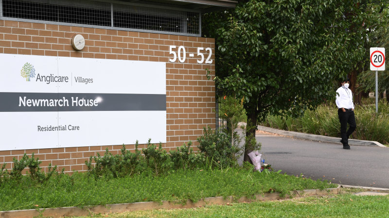 NSW Health investigating possible multiple infection sources at Newmarch House - Sydney Morning Herald