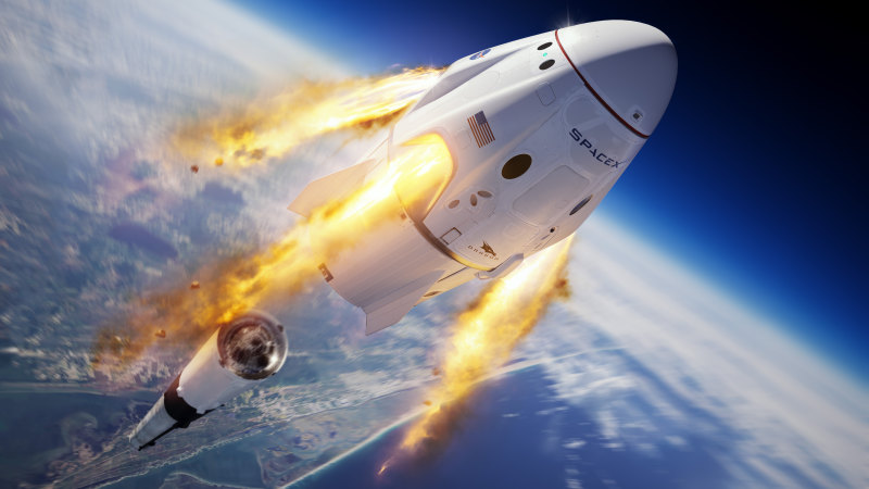 Mission affordable: SpaceX launch could open the final frontier for business - Sydney Morning Herald