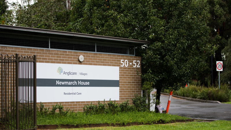 Staff to be tested daily as Newmarch House death toll rises to 14 - Sydney Morning Herald