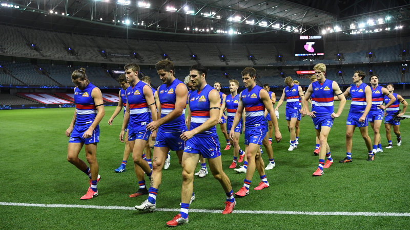 Bulldogs called back to Melbourne to prepare for AFL restart - Sydney Morning Herald