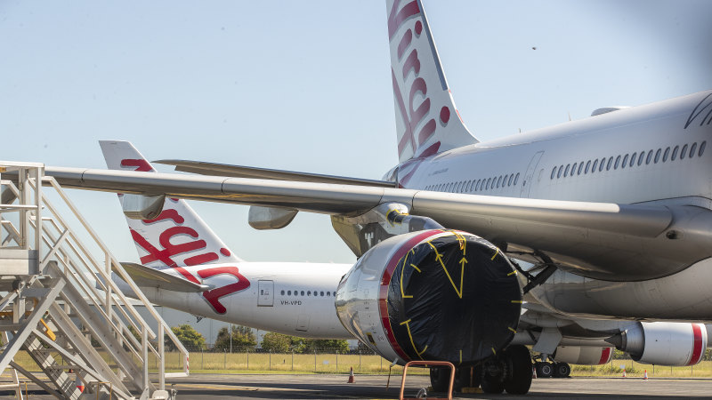 Canadian funds giant Brookfield makes 11th hour bid for Virgin Australia - Sydney Morning Herald