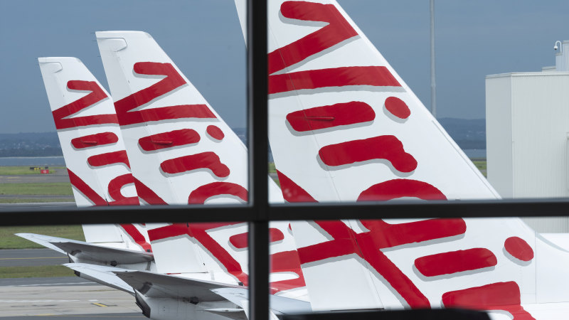 Why the government isn't racing to stop Virgin's voluntary administration - Sydney Morning Herald