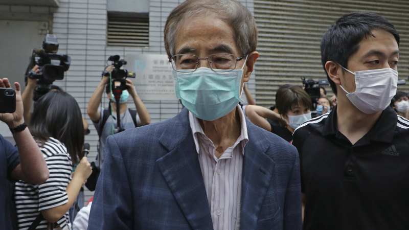 HK democracy activists detained as Lam accused of creating 'ring of terror' - Sydney Morning Herald