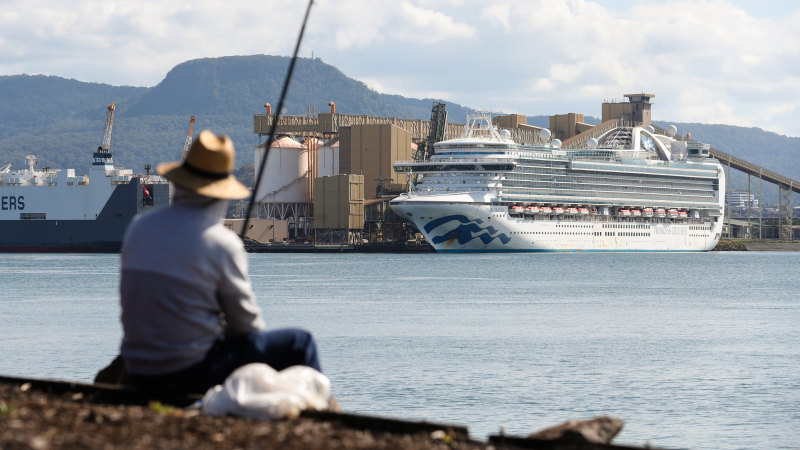 'The end is near': Ruby Princess crew wait for approval to fly home - Sydney Morning Herald