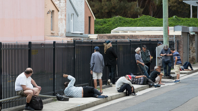 Homeless with nowhere to go told they can't sleep rough - Sydney Morning Herald