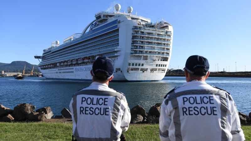 Border Force allowed Ruby Princess to dock - Sydney Morning Herald