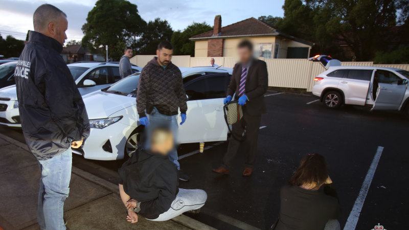 'More than just your average drug bust': police hail arrest of alleged ice syndicate kingpins - Sydney Morning Herald