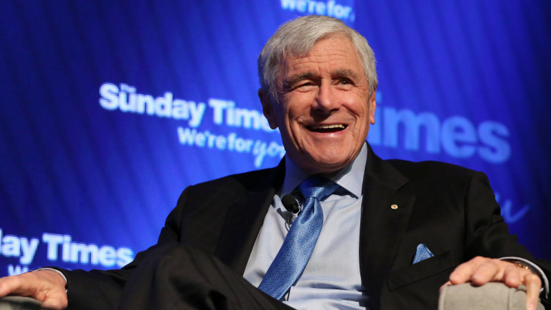 Billionaire Kerry Stokes exempted from strict quarantine rules after arriving in Perth from Aspen by private jet - Sydney Morning Herald