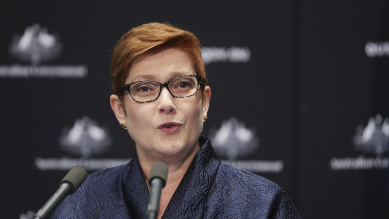 'What is needed is global co-operation': Marise Payne slaps down Beijing's boycott threat - Sydney Morning Herald