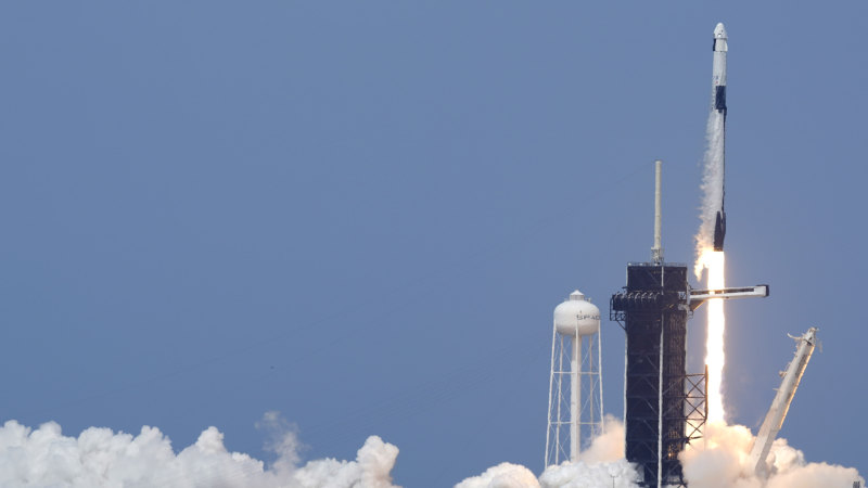 NASA resumes human spaceflight from US soil with historic SpaceX launch - Sydney Morning Herald