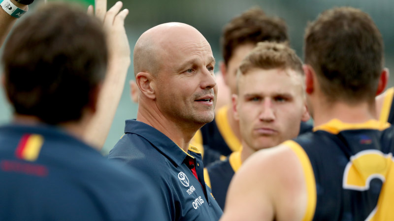 Crows coach 'gutted' as AFL investigation continues - Sydney Morning Herald