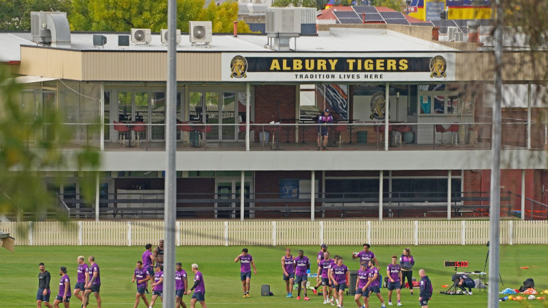 It's awesome: Melbourne Storm praise Albury replacement ground - Sydney Morning Herald