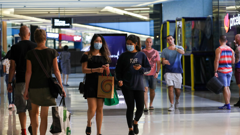 Westfield mall manager cancels distribution as mall customers evaporate - Sydney Morning Herald
