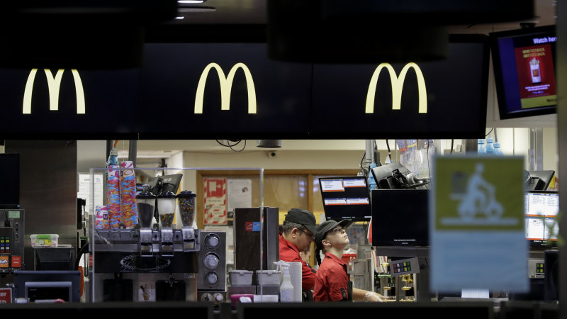 With coronavirus restrictions eased, Kiwis flock to Maccas - Sydney Morning Herald