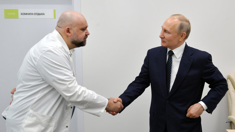 Doctor who met Putin last week diagnosed with coronavirus - Sydney Morning Herald