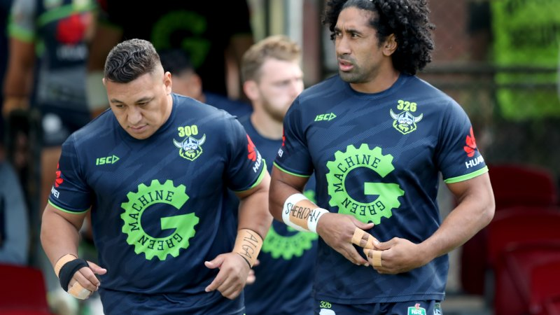 Raiders stars protest as NRL considers banning players - Sydney Morning Herald