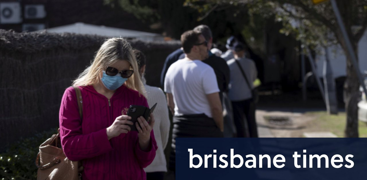 Masks recommended at supermarkets and churches as NSW records 12 new cases - Brisbane Times