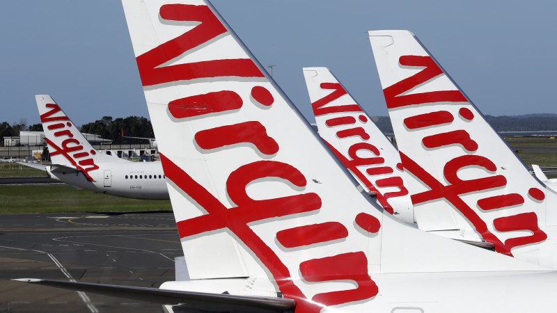 Virgin cash fears as airline down to its last $100m, Twiggy Forrest makes bid - Sydney Morning Herald