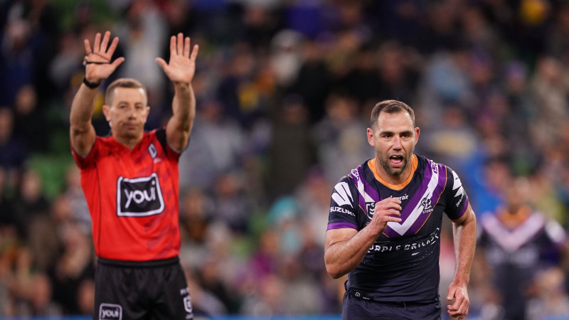 NRL will re-start with or without top refs, says V'landys - Sydney Morning Herald