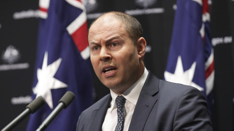 Restrictions costing the country $4 billion a week: Frydenberg - Sydney Morning Herald