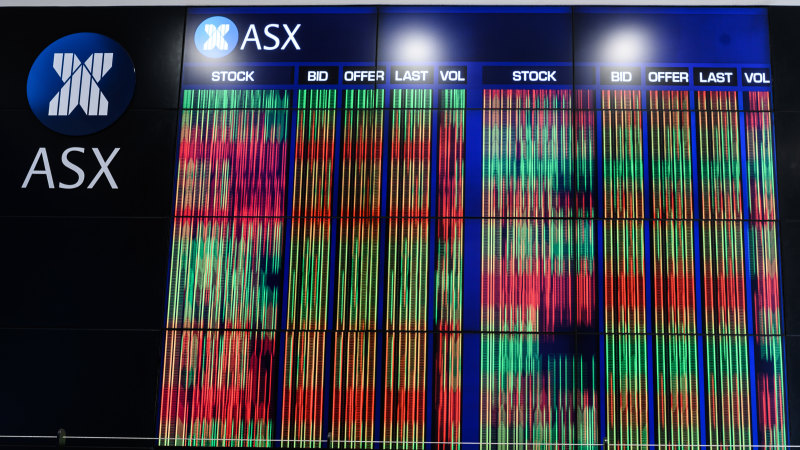 8@eight: ASX set to dip as markets remain on edge - Sydney Morning Herald