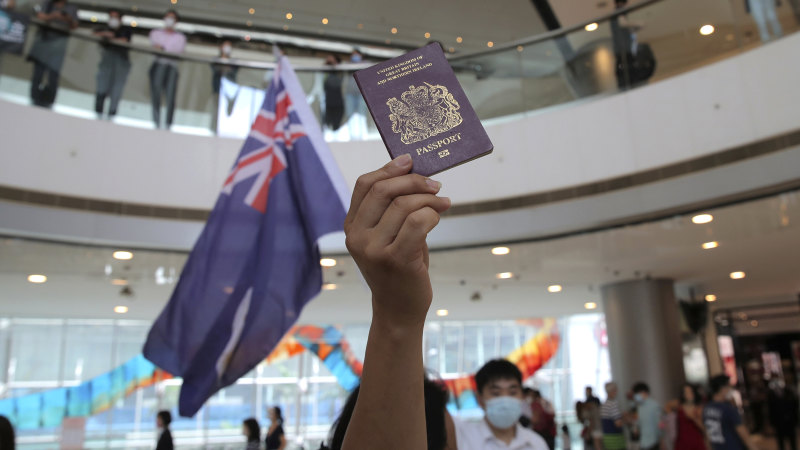 UK may ask Australia to give residency to fleeing British Hong Kong residents - Sydney Morning Herald