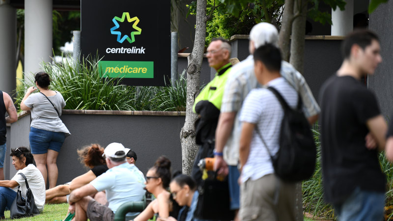 March unemployment lifts marginally but warnings of big jumps ahead - Sydney Morning Herald