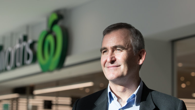 Supply not the issue: Woolworths CEO Banducci calls for calm as panic-buying clears shelves - Sydney Morning Herald