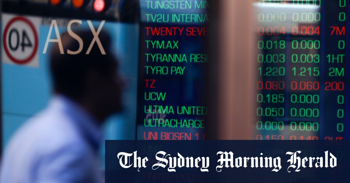 8@eight: ASX set to rise; $A hit hard - Sydney Morning Herald