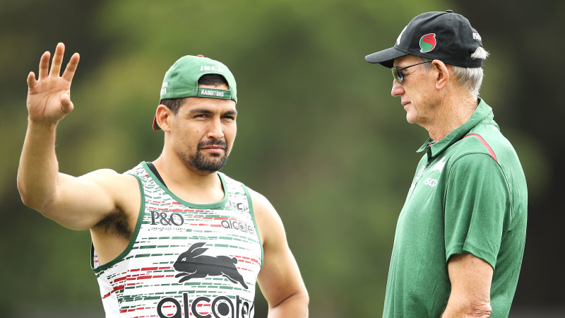 Bennett could cop $20,000 fine for Souths after silence on Walker fight - Sydney Morning Herald