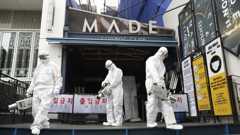 South Korea worries about a COVID-19 resurgence - Sydney Morning Herald