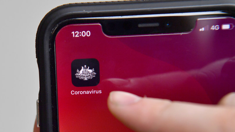New laws to cover coronavirus app after fears police could access data - Sydney Morning Herald