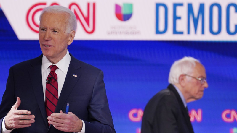 Joe Biden vows to select female running mate as Democratic presidential nominee - Sydney Morning Herald