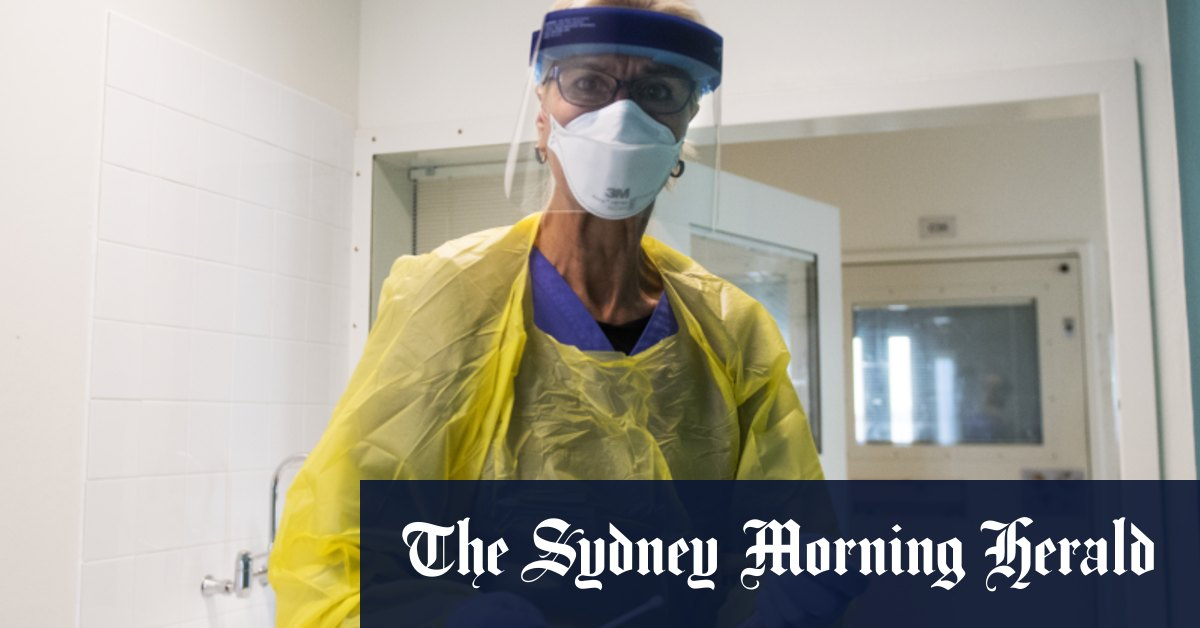 One in five doctors and nurses has limited access to face masks - Sydney Morning Herald