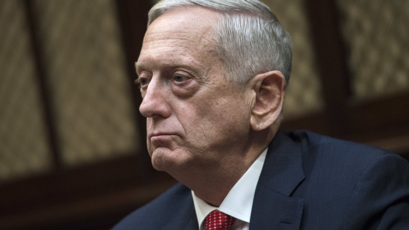 'Angry and appalled': ex-defence chief Mattis rips Trump for dividing Americans - Sydney Morning Herald