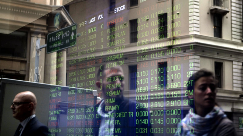 Volatility rules as ASX books biggest gain a day after record crash - Sydney Morning Herald