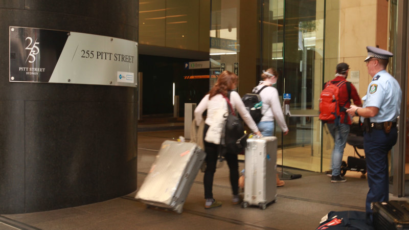 Government urged to pay for hotel rooms for self-isolating families - Sydney Morning Herald