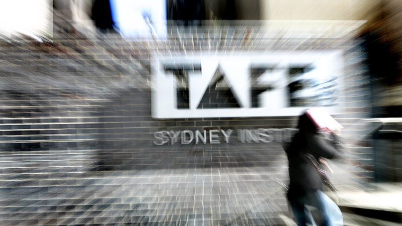 TAFE courses suspended from Monday but nursing and aged care to continue - Sydney Morning Herald