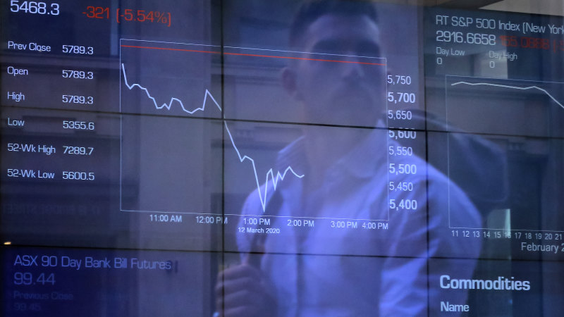 8@eight: ASX set for sharp falls as Wall Street tumbles - Sydney Morning Herald