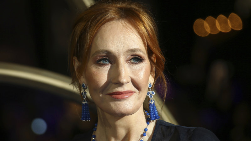 J.K. Rowling publishes first chapters of new story online - Sydney Morning Herald