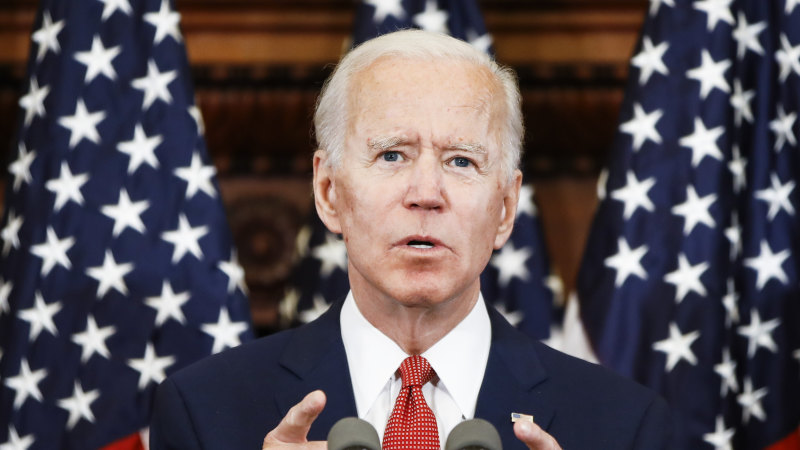 Biden lashes Trump for 'fanning the flames of hate' during protests - Sydney Morning Herald