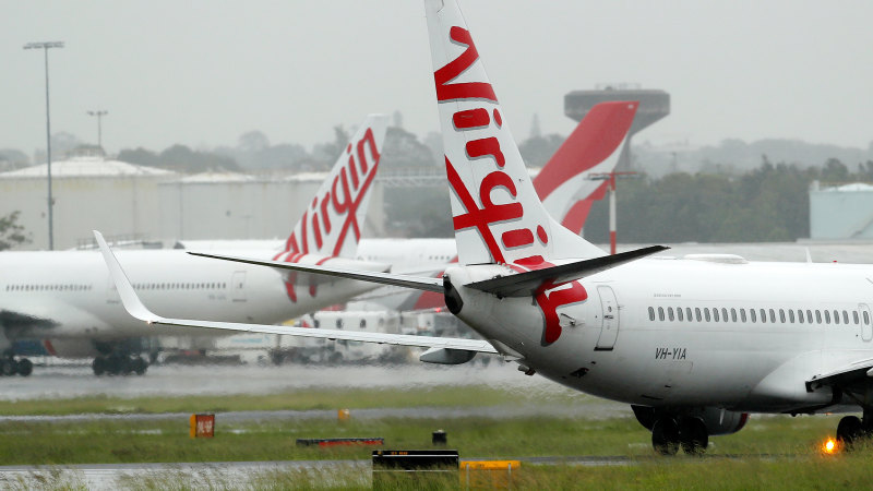 Virgin Australia cuts 90 per cent of flights, stands down 8000 workers - Sydney Morning Herald