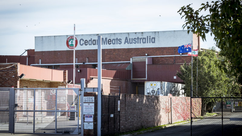 Labour hire firm told of COVID-19 outbreak days before Cedar Meats - Sydney Morning Herald